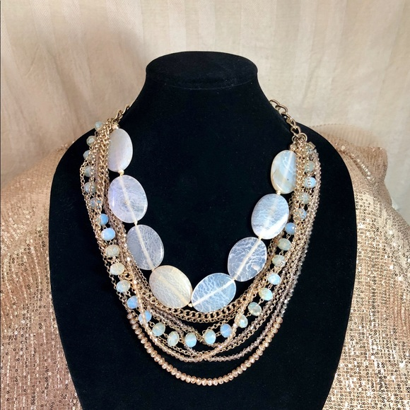 Saks Fifth Avenue Jewelry | Gorgeous Statement Necklace ...